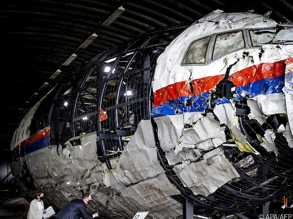 298 Menschen starben 2014 bei Abschuss des Flugzeugs über Ostukraine