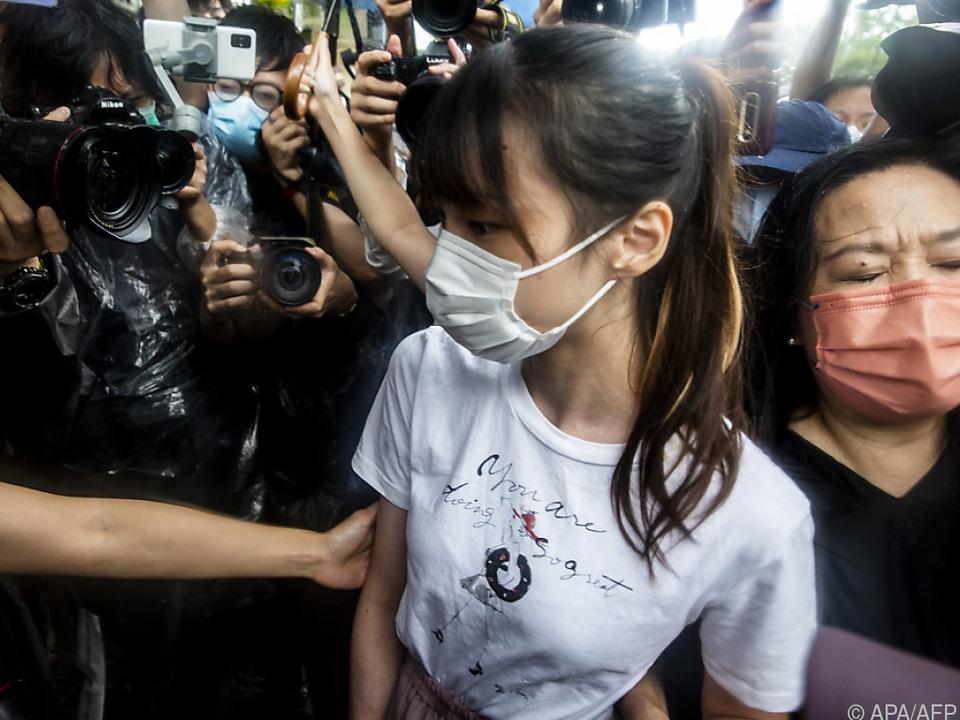 Agnes Chow wurde aus der Haft entlassen
