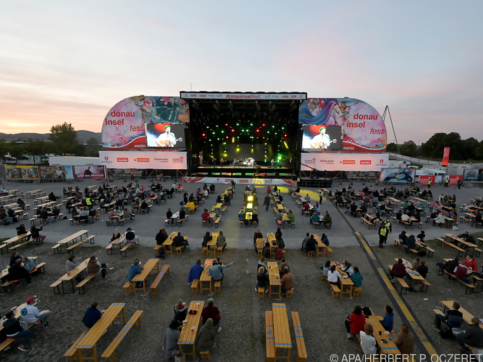 Anders als 2020 soll heuer am Donauinselfest wieder getanzt werden