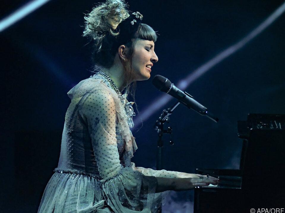 Anna Buchegger sang den Titel im Finale
