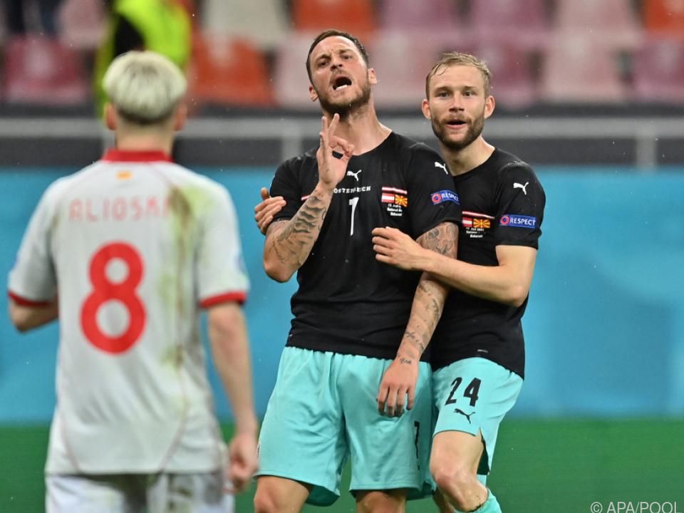 Arnautovic schimpft in Richtung Gegenspieler Alioski