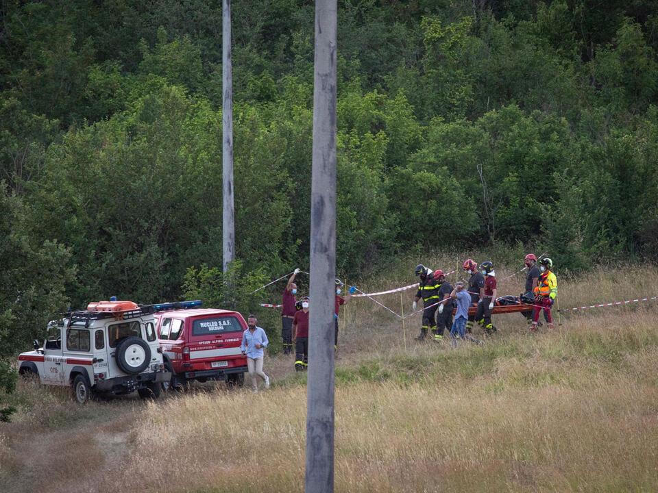 Il luogo in cui e\' stato trovato il corpo senza vita della sedicenne Chiara Gualzetti, ai margini di un bosco a Monteveglio, in provincia di Bologna, 28 giugno 2021. athesiadruck2_2021062918581270_fff3a7f47cfdbd3ea31f97dc239a8d59