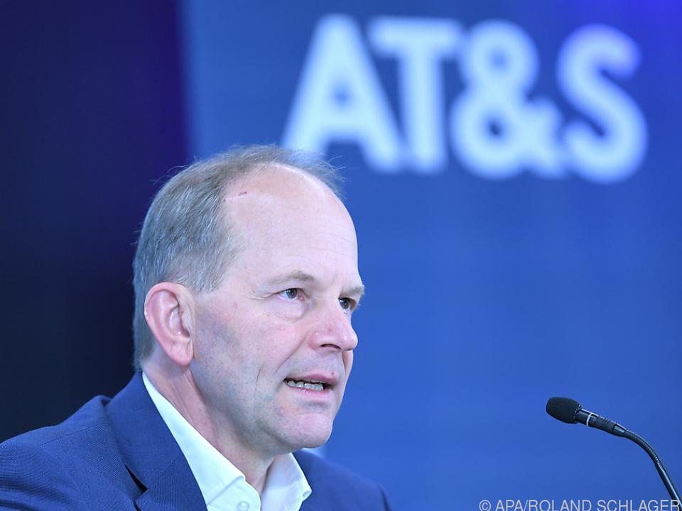 AT&S-Chef Andreas Gerstenmayer verkündete Standortwahl