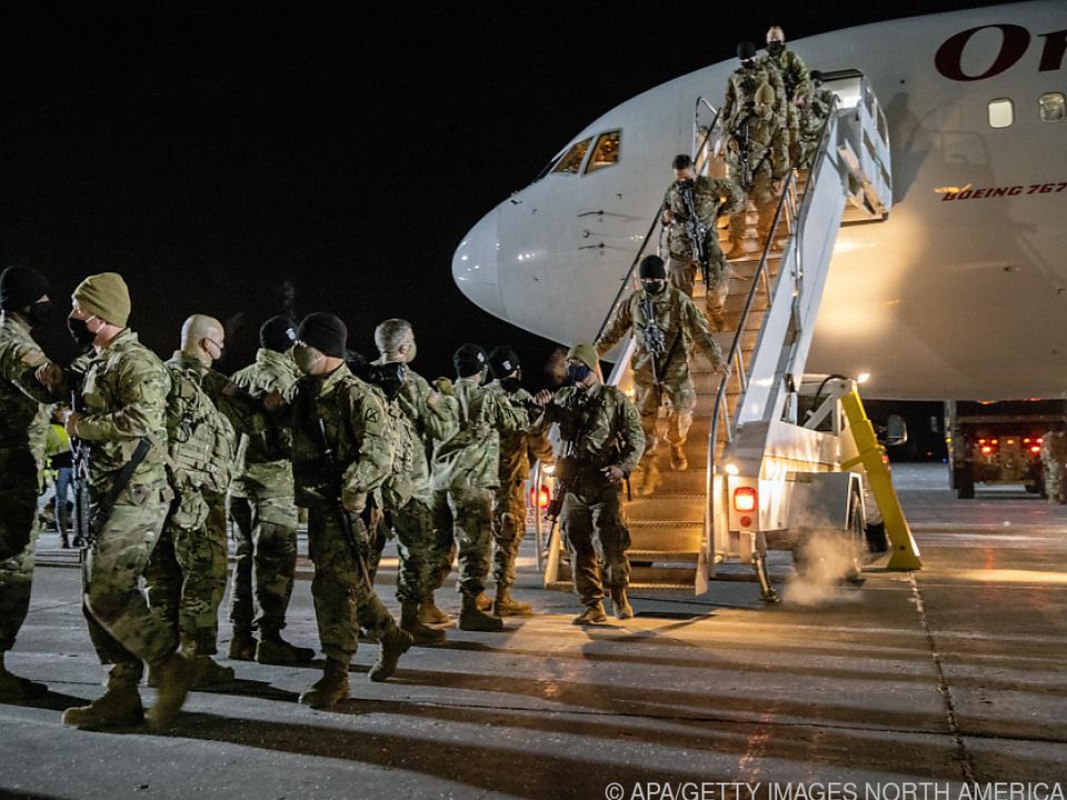 Aus Afghanistan heimkehrende US-Soldaten
