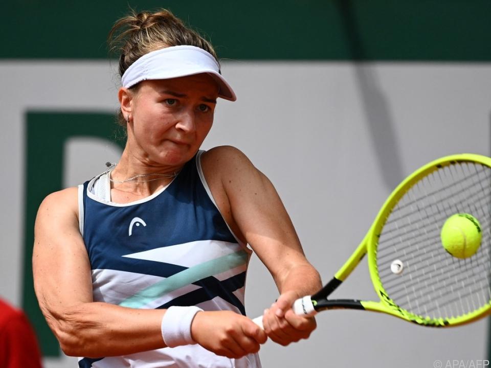 Barbora Krejicikova gewann ihren ersten Einzel-Grand-Slam-Titel.