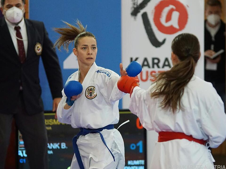 Bettina Plank vertritt Österreich bei der Karate-Premiere in Tokio
