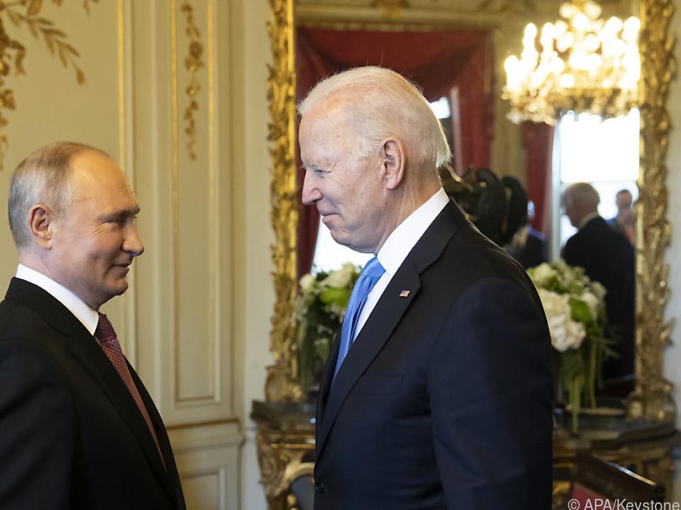 Biden traf Putin diese Woche in Genf