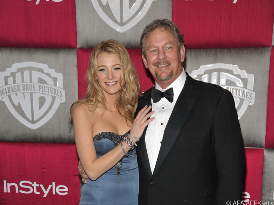 Blake Lively gemeinsam mit ihrem Vater im Jahr 2009