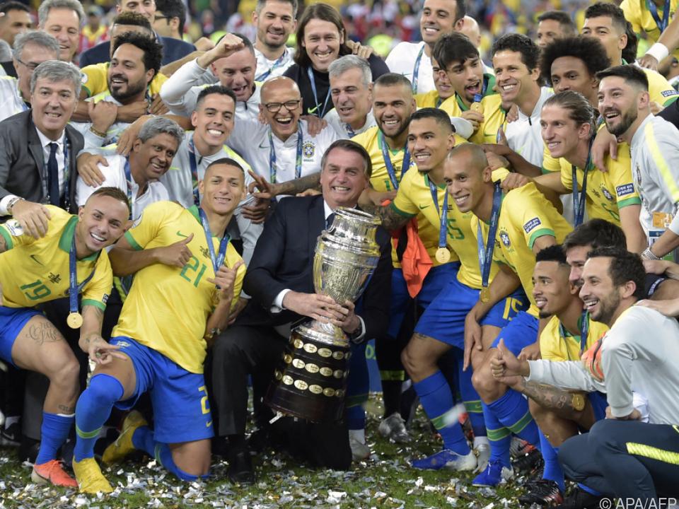Brasiliens Präsident Bolsonaro will wie 2019 über die Copa America jubeln