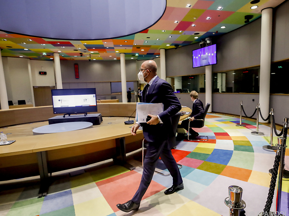 Charles Michel empfängt die EU-Chefs zum Gipfel in Brüssel