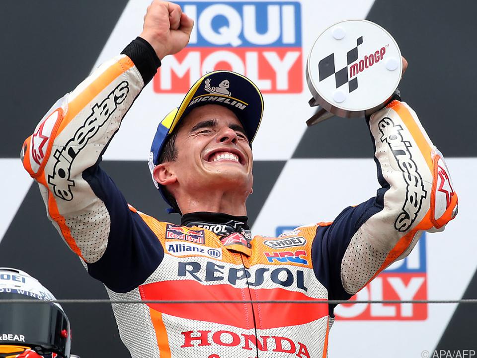 Comeback-Sieg für Marc Marquez auf dem Sachsenring