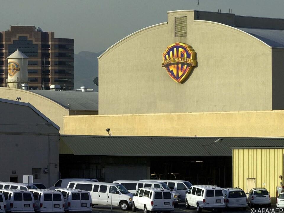 Das Hollywoodstudio von Warner Bros. in Burbank, Los Angeles