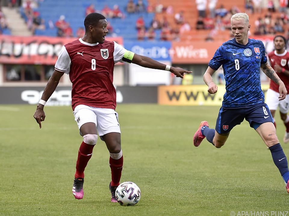 David Alaba geht in sein zweites EM-Turnier