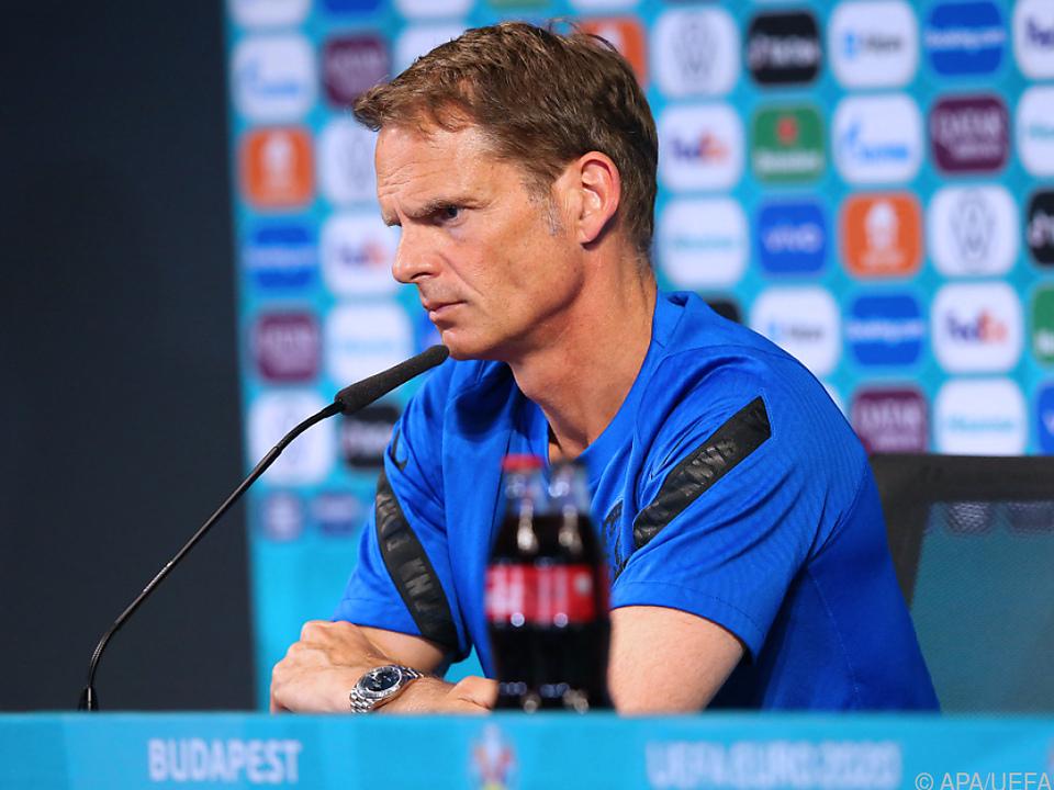 De Boer gab seinen absehbaren Rücktritt bekannt