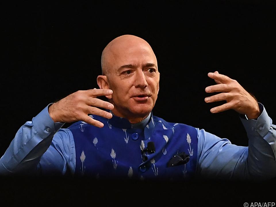 Der Amazon-Gründer fliegt demnächst ins Weltall