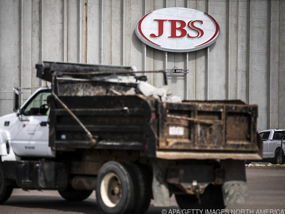 Der Betrieb bei JBS stand nach dem Angriff still
