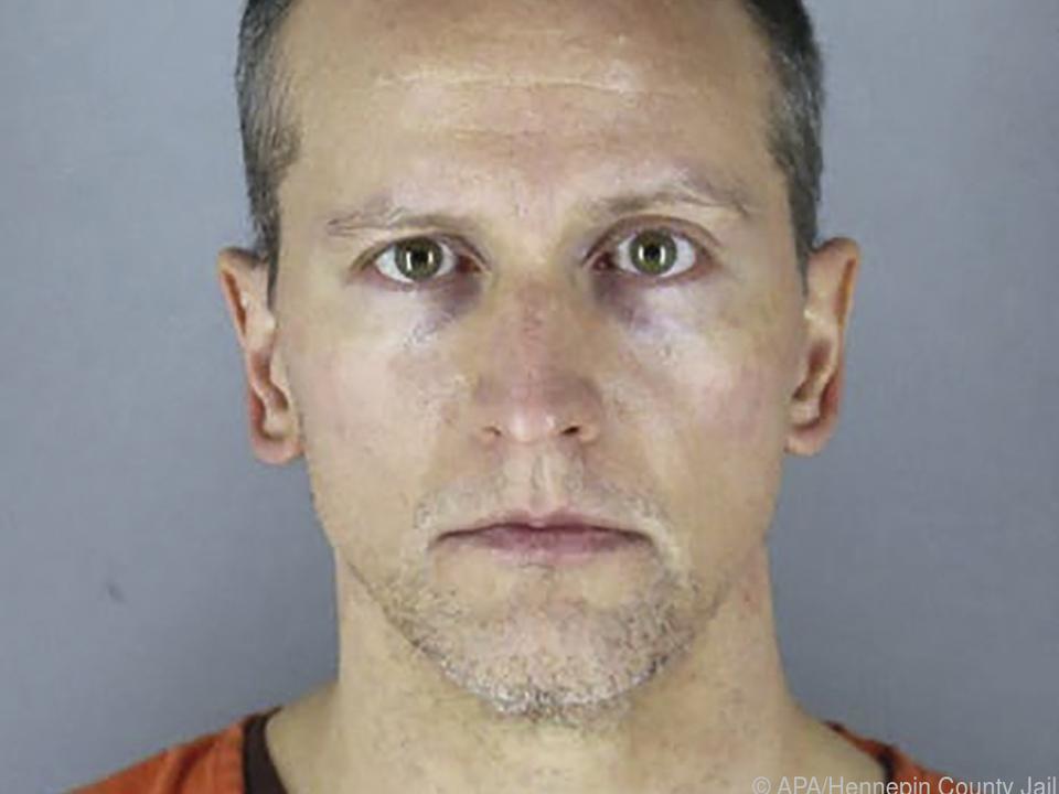 Der Ex-Polizist Derek Chauvin