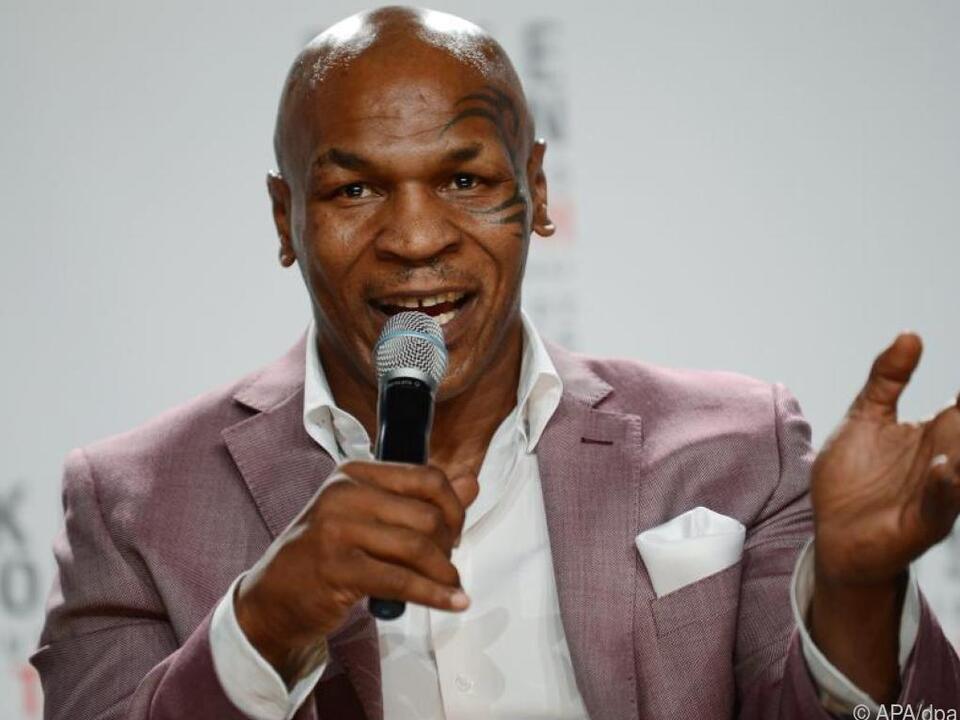 Der frühere Boxer Mike Tyson wird 55