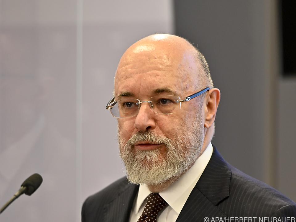 Der Spitzenbeamte Clemens Martin Auer