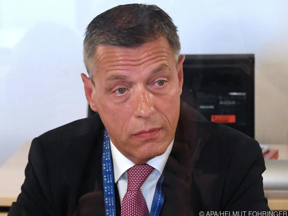 Der suspendierte Sektionschef Pilnacek im U-Ausschuss