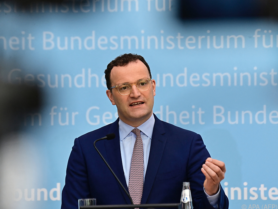 Deutschlands Gesundheitsminister Jens Spahn steht in der Kritik
