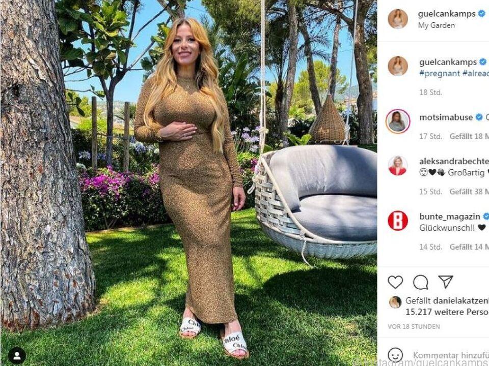 Die 38-Jährige postete auf Instagram dieses Foto
