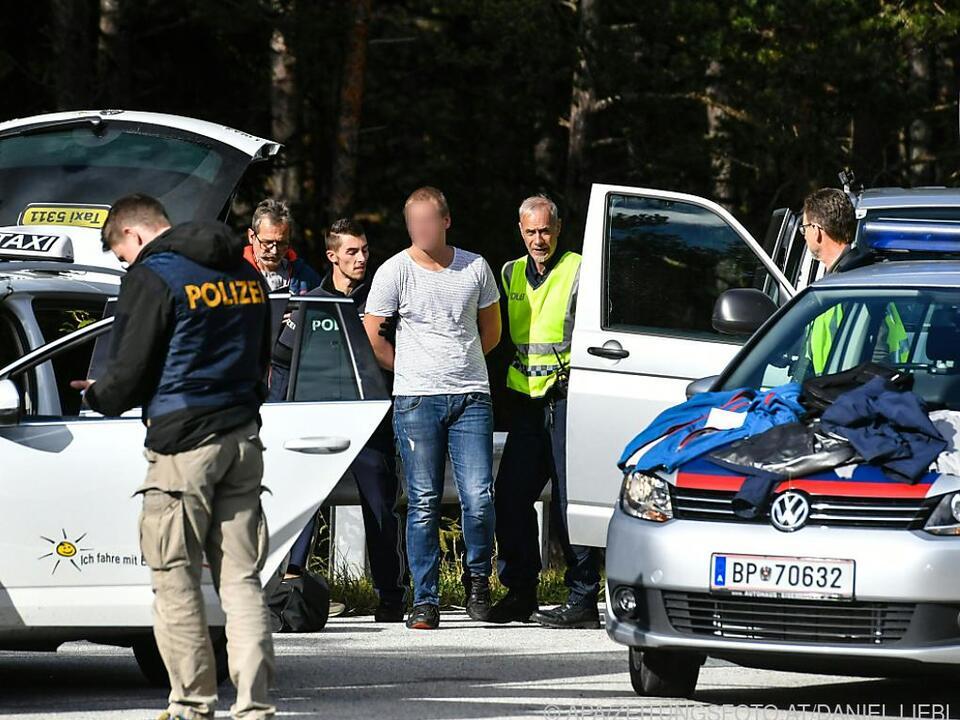 Die Festgenommenen raubten 2017 auch bei einem Juwelier in Innsbruck