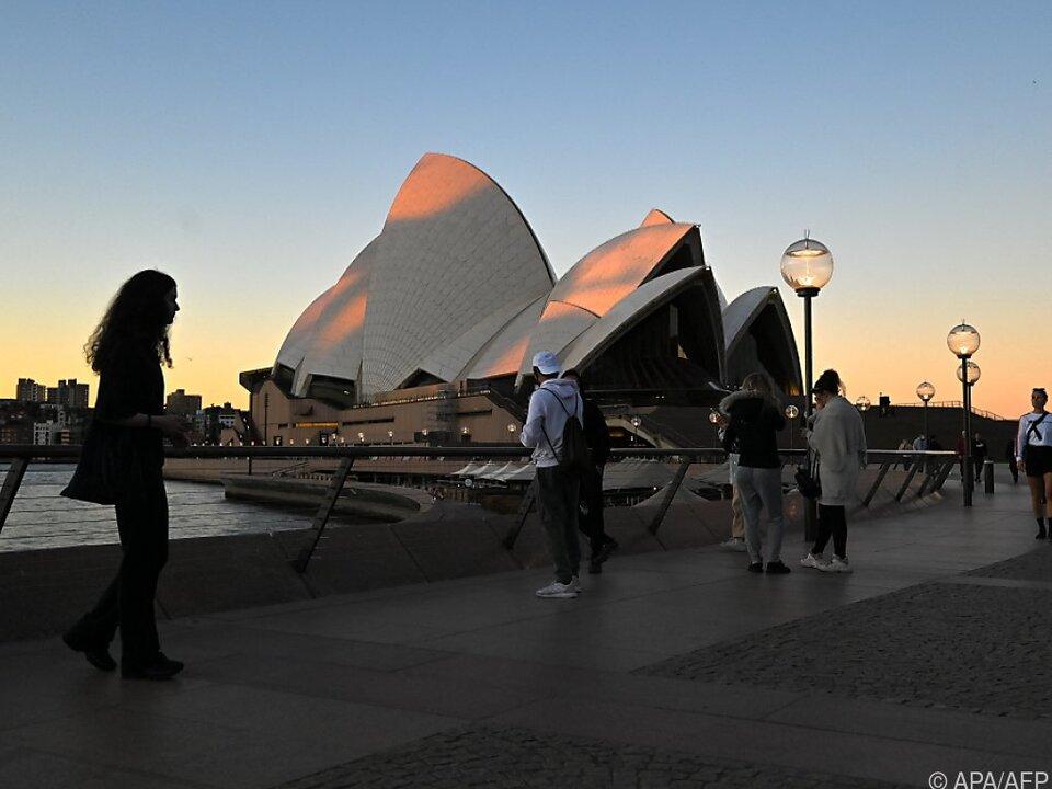 Die Metropole Sydney ist vom Lockdown betroffen