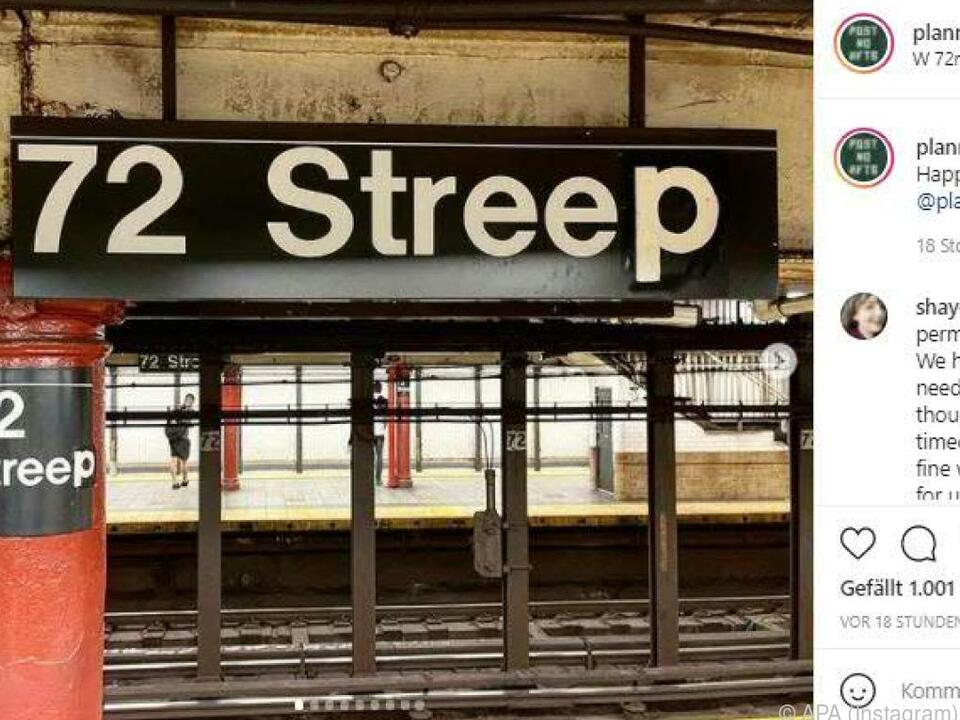 Die neue U-Bahn-Station...