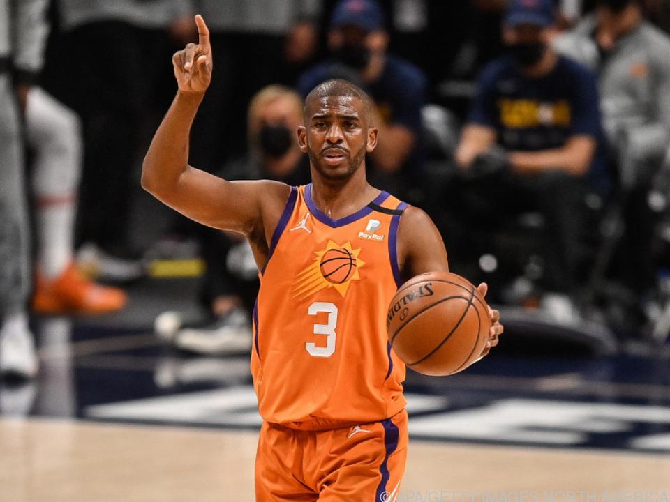Die Richtung stimmt für die Phoenix Suns fon Chris Paul
