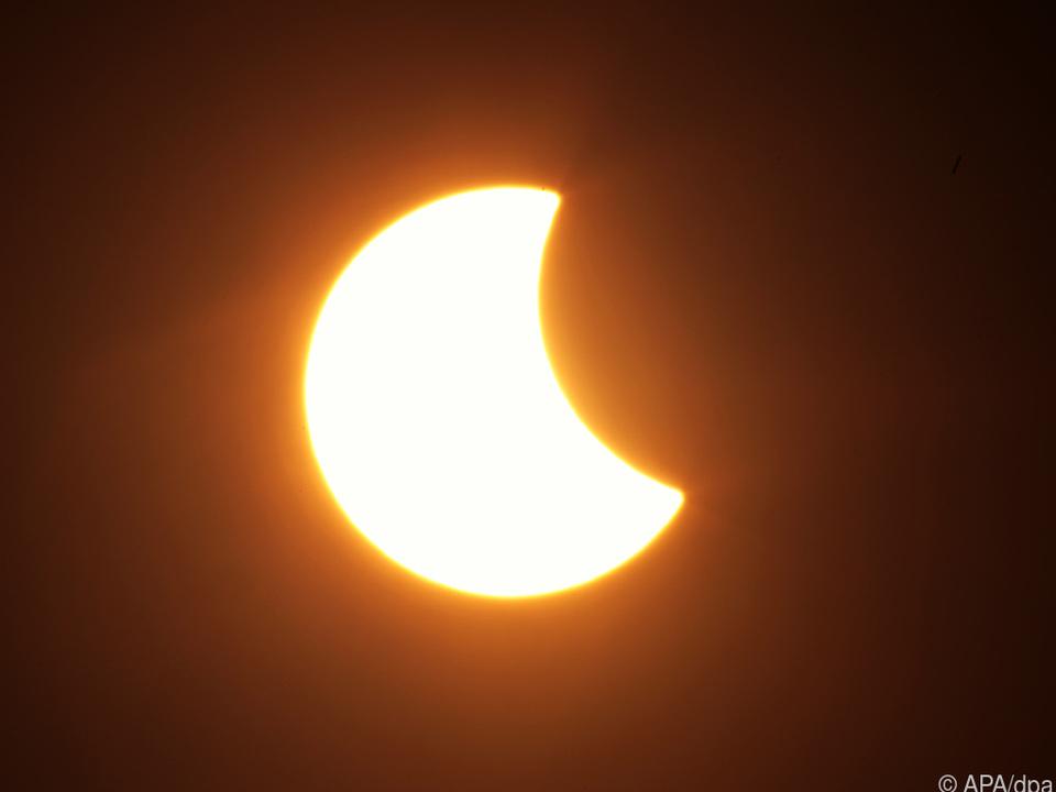 Die Sonnenfinsternis 2015 war deutlich stärker als die heuer