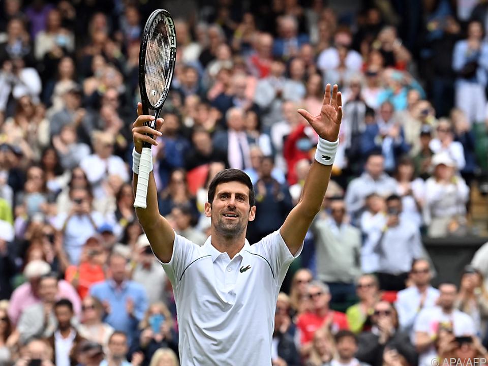 Djokovic souverän in dritter Wimbledon-Runde
