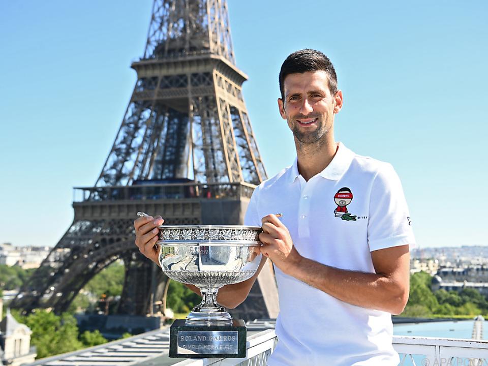 Djokovic verlegt Titeljagd von Paris nach Wimbledon