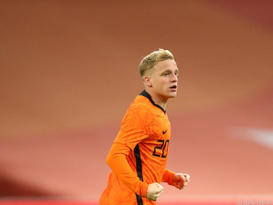 Donny van de Beek fällt bei Österreich-Gegner Niederlande aus