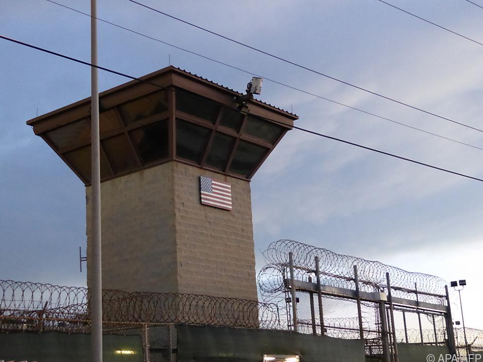 Ein Blick auf das Gefängnis im US-Stützpunkt Guantanamo