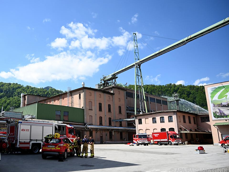 Ein Mitarbeiter der Firma AustroCel in Hallein kam ums Leben