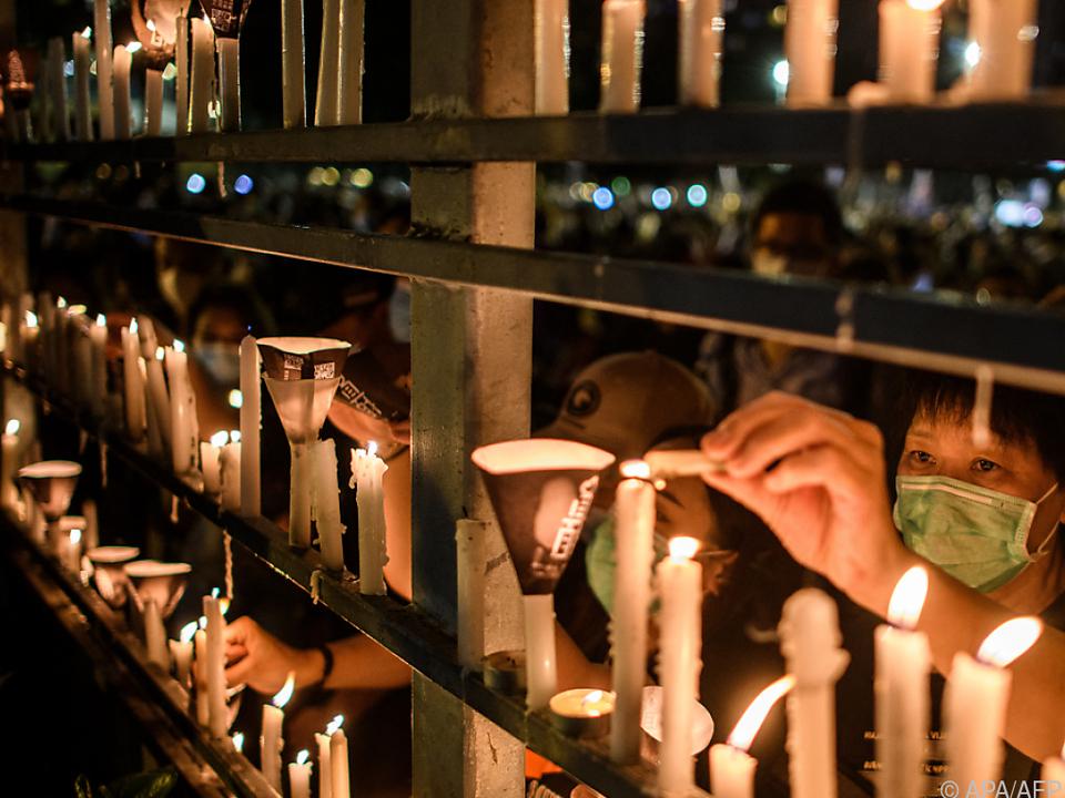 Erinnerung an Tienanmen-Massaker in Hongkong