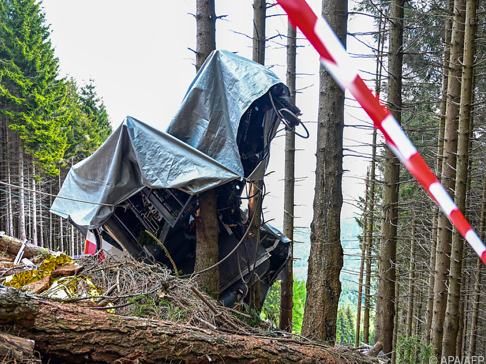Ermittler veröffentlichten Videos der Seilbahnkatastrophe bei Stresa