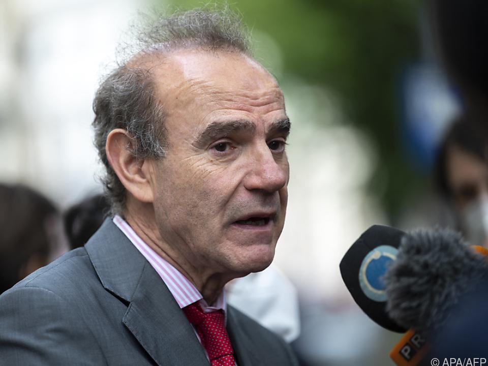 EU-Spitzendiplomat Enrique Mora leitet die Gespräche in Wien