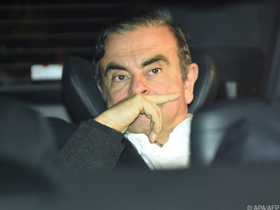 Ex-Automanager Carlos Ghosn