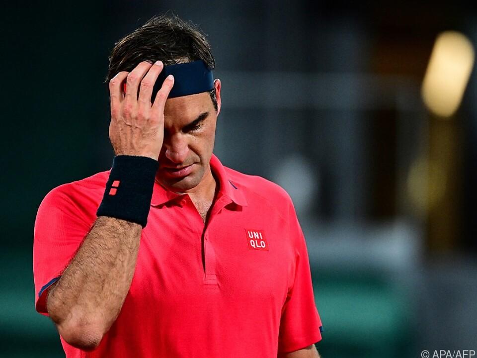 Federer zog sich aus French Open zurück