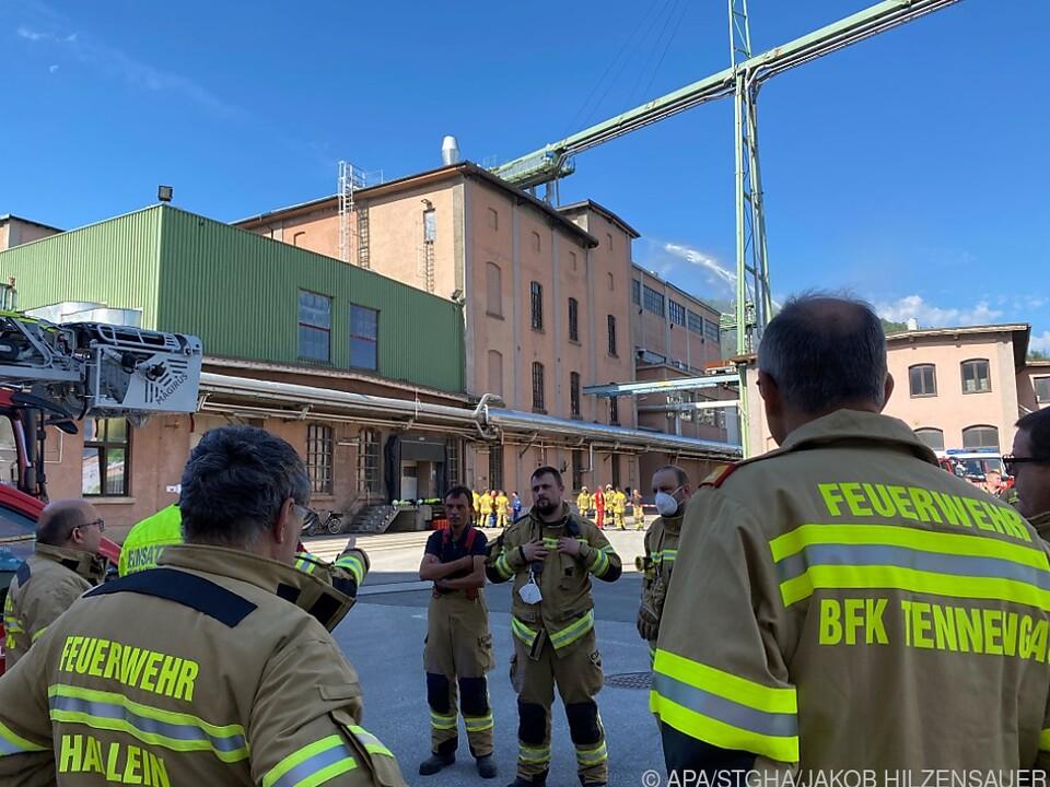 Feuerwehr war mit Großaufgebot im Einsatz
