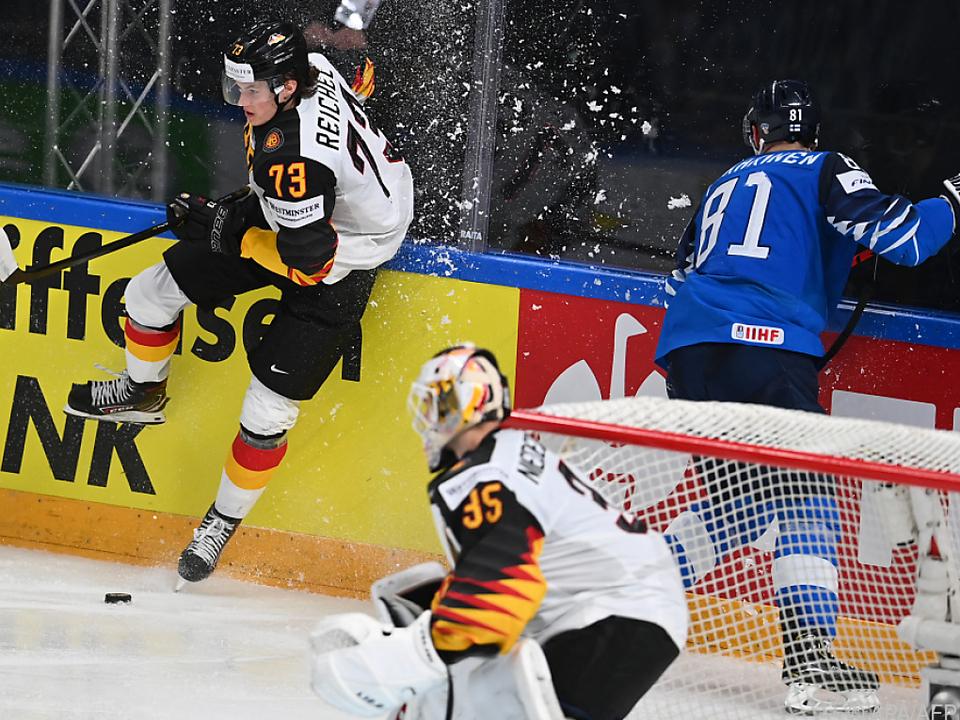 Finnland rang Deutschland nieder und steht wie 2019 im WM-Finale