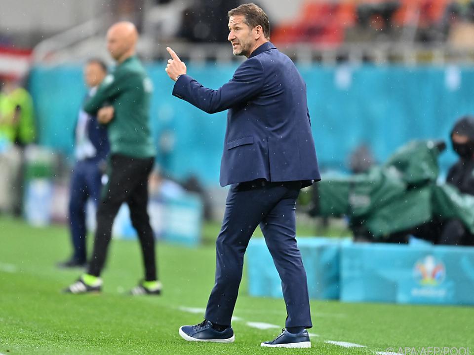 Foda dirigierte Österreich zum ersten Sieg bei einer EM-Endrunde