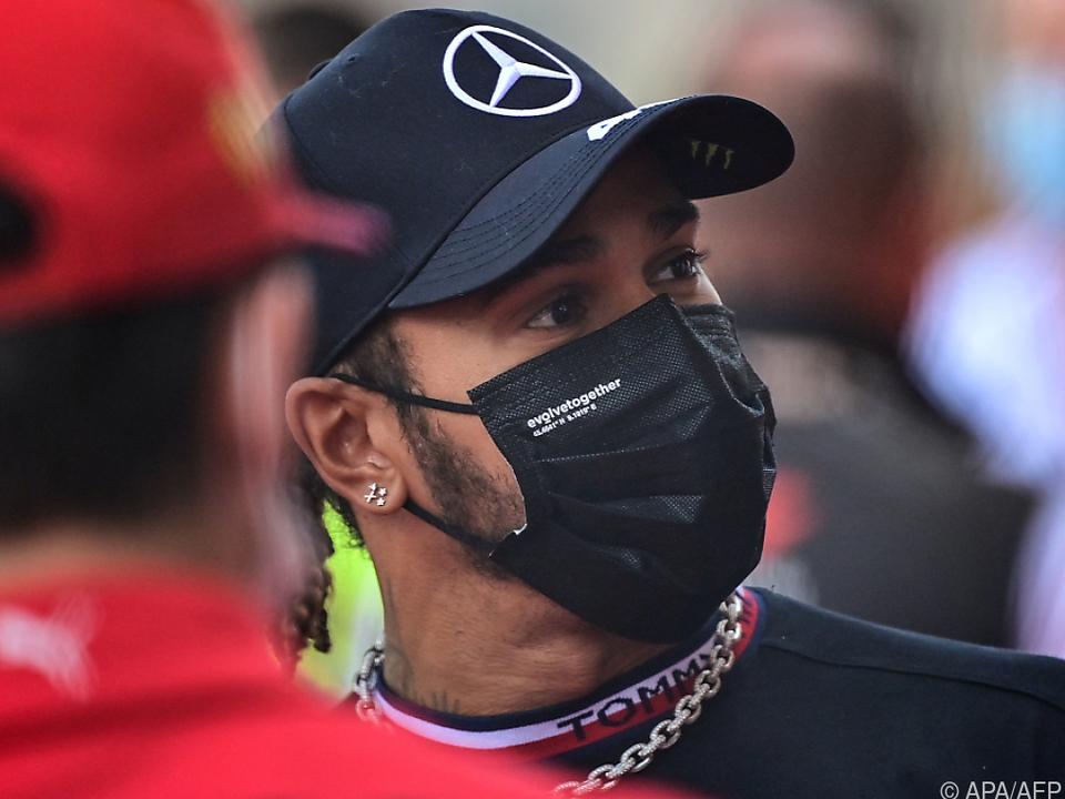 Formel-1-Weltmeister Hamilton auch in Baku gefordert