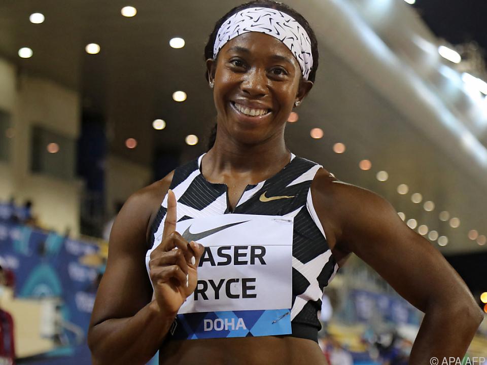 Fraser-Pryce nach Superzeit Topfavoritin auf Sprint-Olympiagold