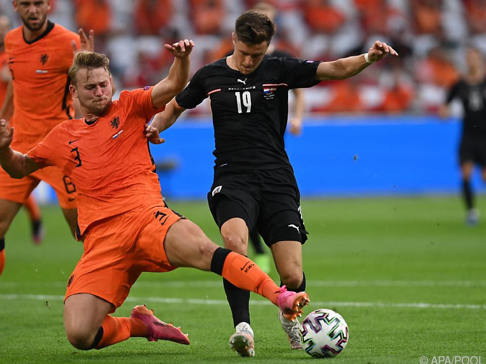Für Baumgartner gab es gegen Niederlande-Star De Ligt kein Durchkommen