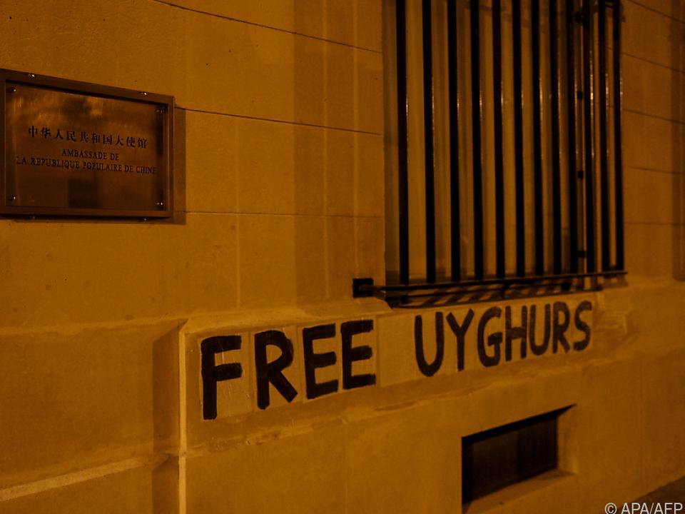 Für die Rechte und Befreiung der Uiguren gibt es weltweit Aktionen