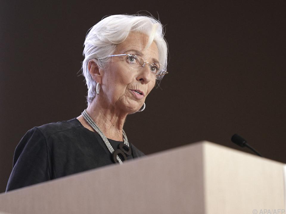 Für Lagarde muss Erholung erst fest, solide und nachhaltig sein