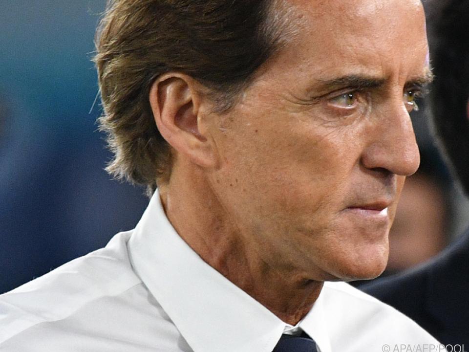 Für Roberto Mancini läuft es weiter nach Plan